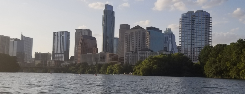 Austin Cityscape from the river